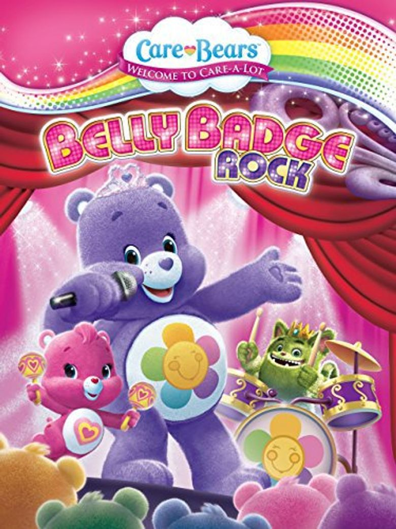 Care Bears: Belly Badge Rock Poster