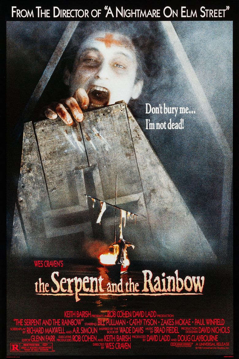 The Serpent and the Rainbow Poster
