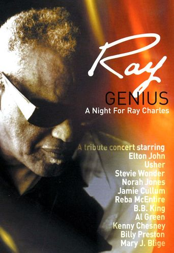 Genius. A Night for Ray Charles Poster