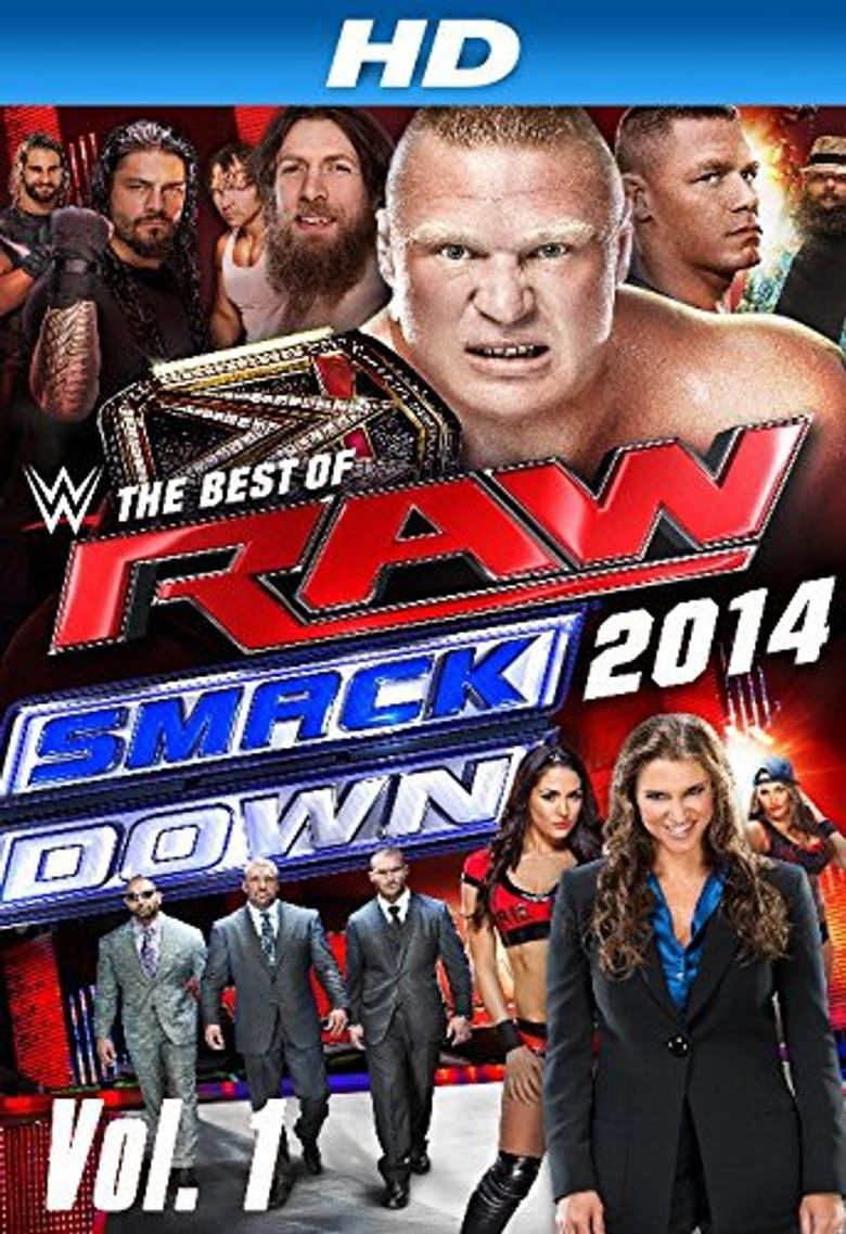 WWE: The Best of RAW and Smackdown 2014 Poster