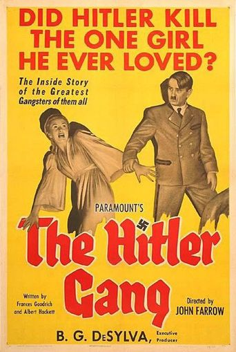 The Hitler Gang Poster