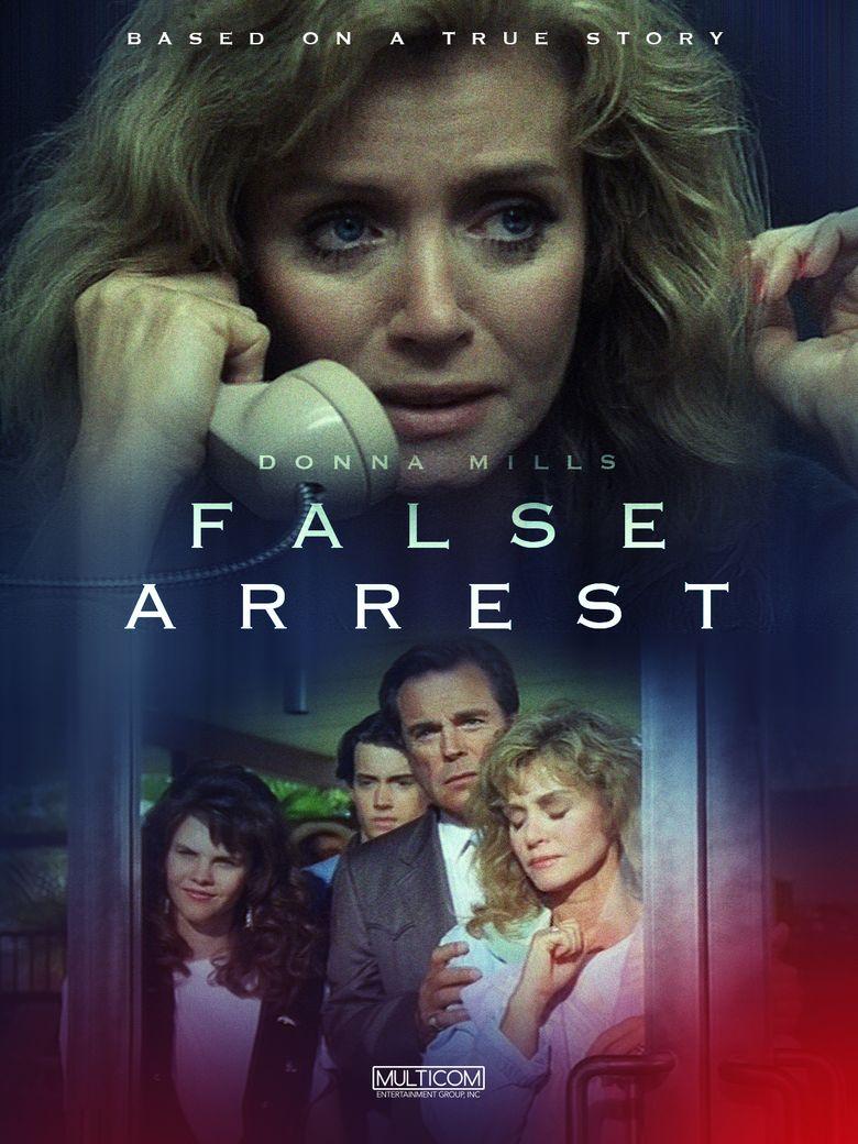 False Arrest Poster