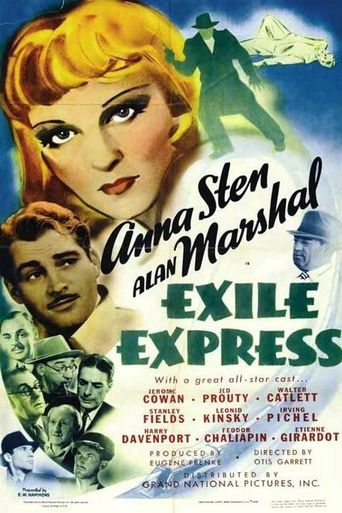 Exile Express Poster