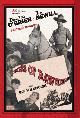 Boss of Rawhide Poster