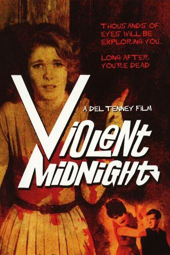 Violent Midnight Poster
