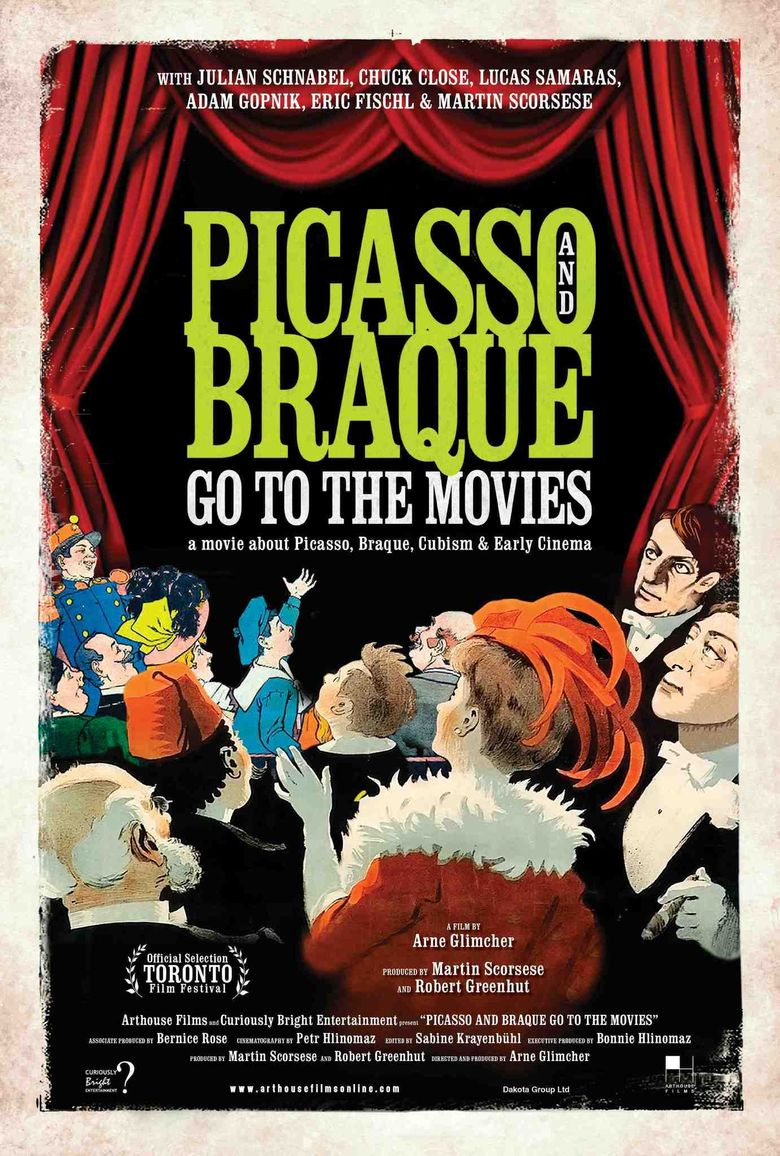 Picasso and Braque Go to the Movies Poster