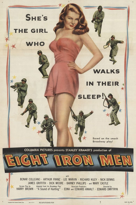 Eight Iron Men Poster