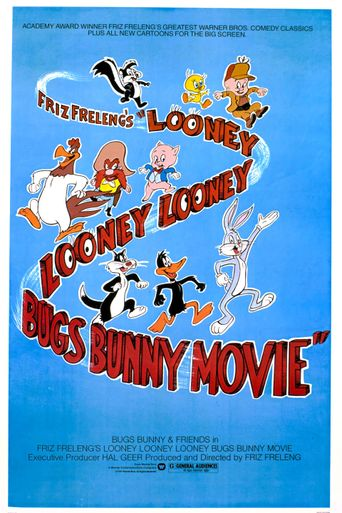 The Looney, Looney, Looney Bugs Bunny Movie Poster