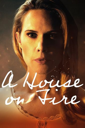 A House on Fire Poster