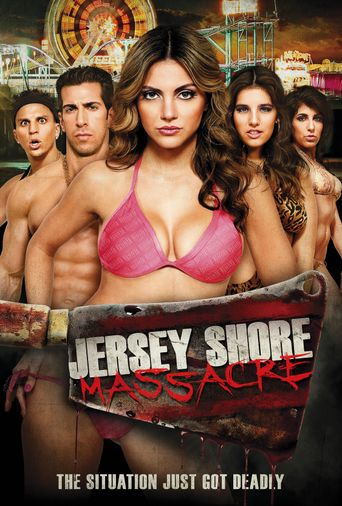 Jersey Shore Massacre Poster