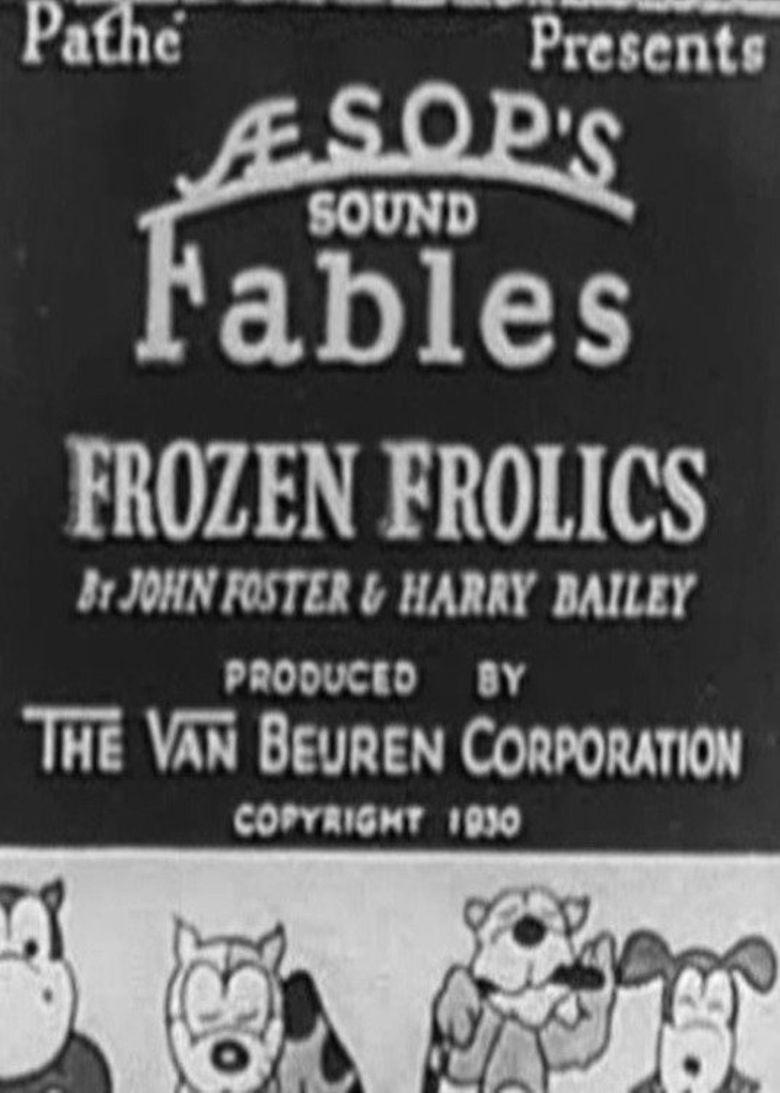 Frozen Frolics Poster
