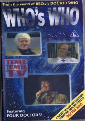 'Doctor Who' Who's Who Poster