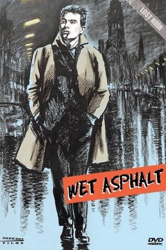 Wet Asphalt Poster
