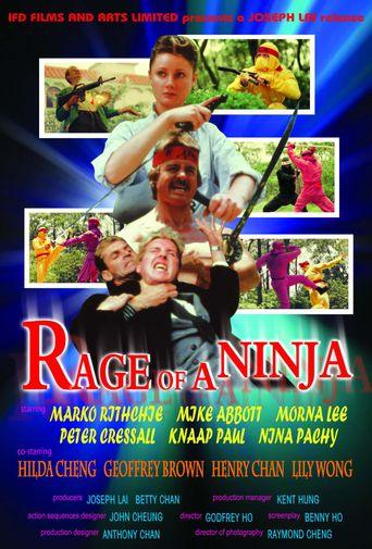 Rage of a Ninja Poster