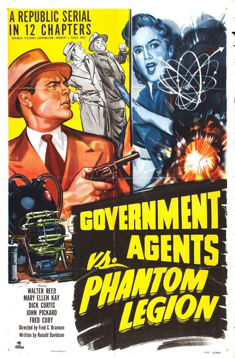 Government Agents vs Phantom Legion Poster