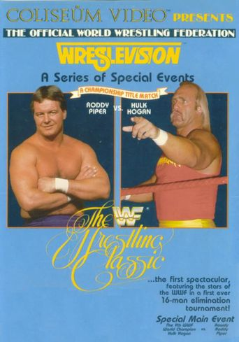 WWE WrestleVision: The Wrestling Classic Poster