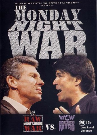 WWE: The Monday Night War: WWE Raw vs. WCW Nitro Poster