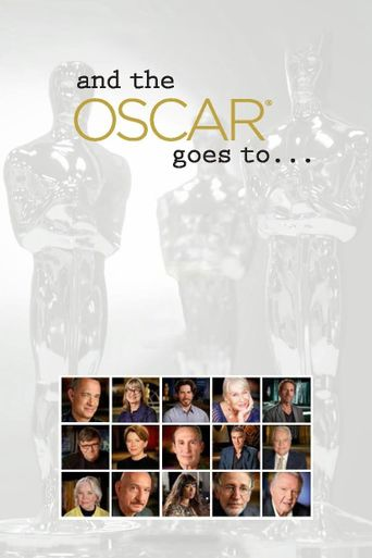 And the Oscar Goes To... Poster