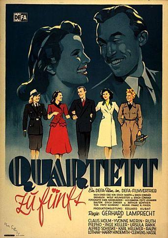 Quartett zu fünft Poster