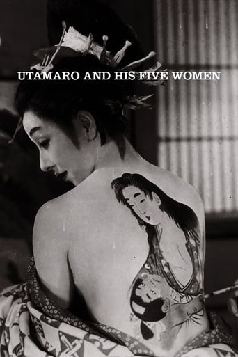 Utamaro and His Five Women Poster