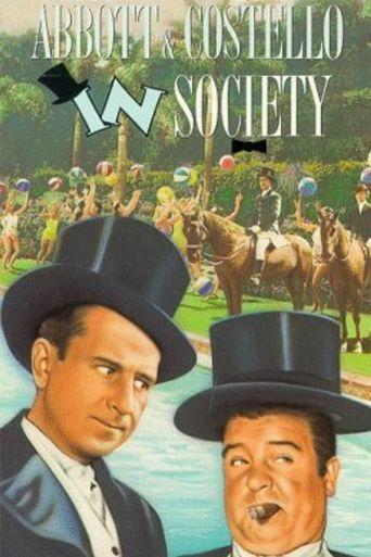 In Society Poster