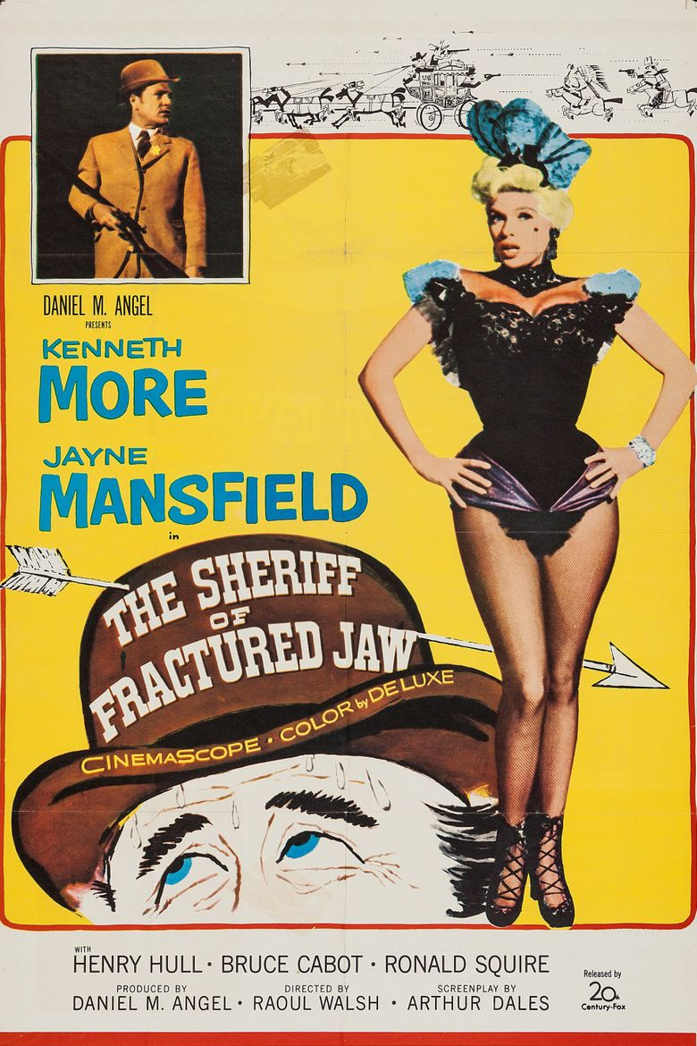 The Sheriff of Fractured Jaw Poster