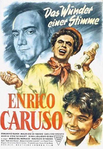 Enrico Caruso - Leggenda di una voce Poster