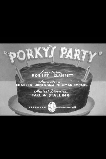 Porky's Party Poster