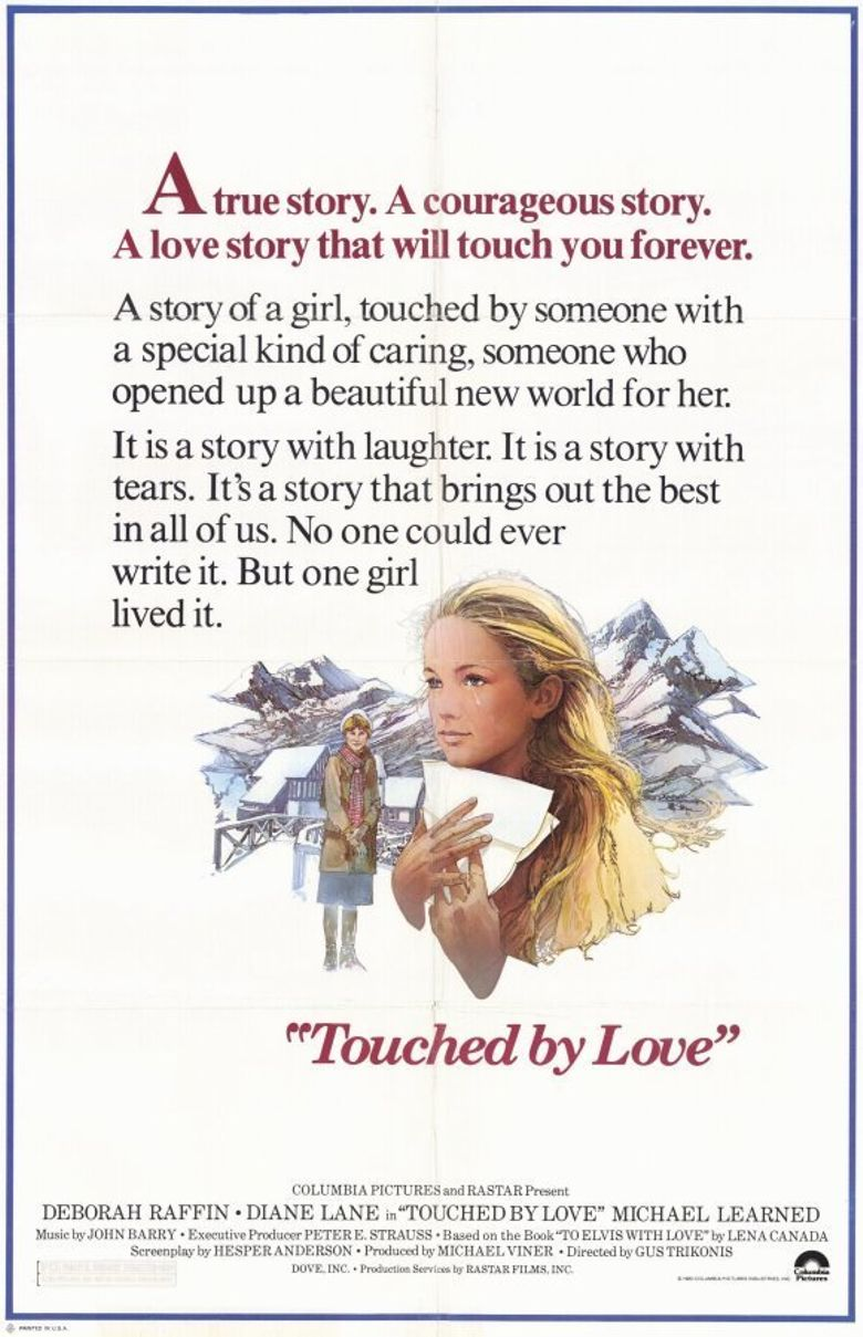Touched by Love Poster