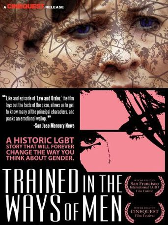 Trained In The Ways of Men Poster