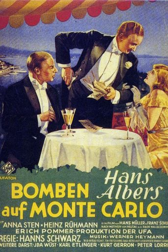 Bombs Over Monte Carlo Poster