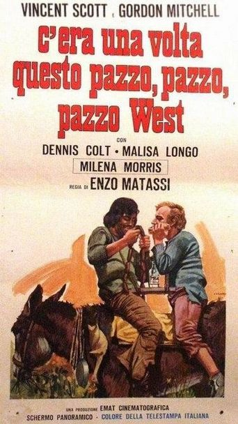 Once Upon a Time in the Wild, Wild West Poster
