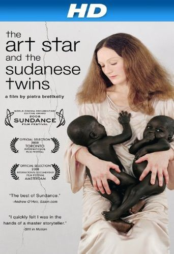 The Art Star and the Sudanese Twins Poster