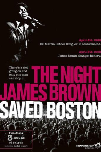 The Night James Brown Saved Boston Poster