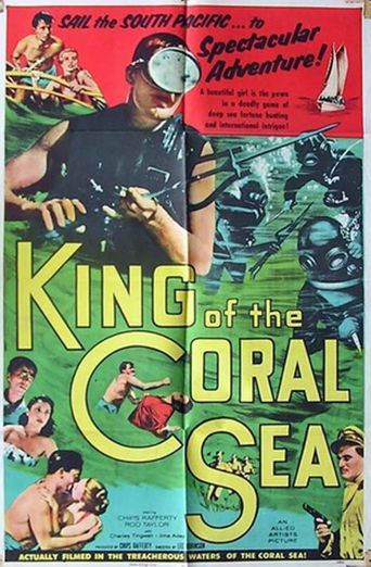 King of the Coral Sea Poster