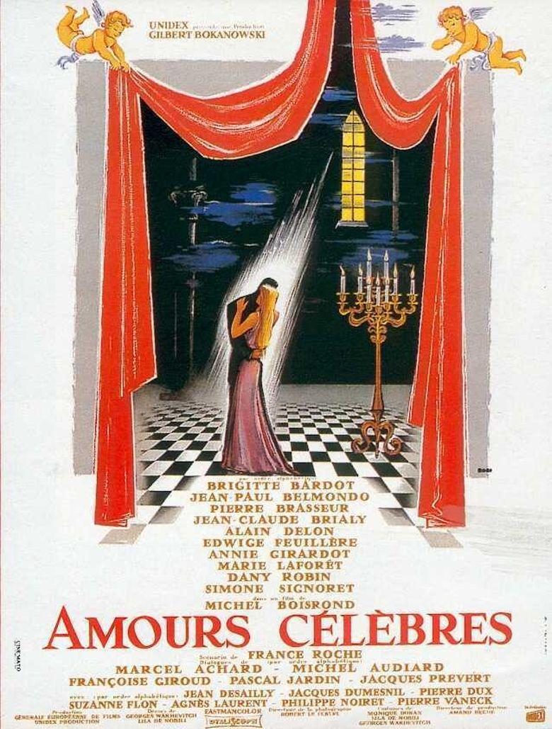 Amours célèbres Poster