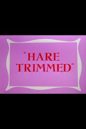 Hare Trimmed Poster