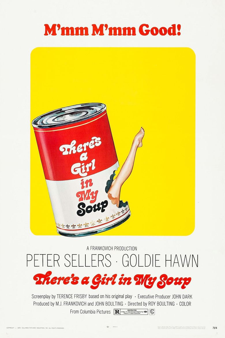 There's a Girl in My Soup Poster
