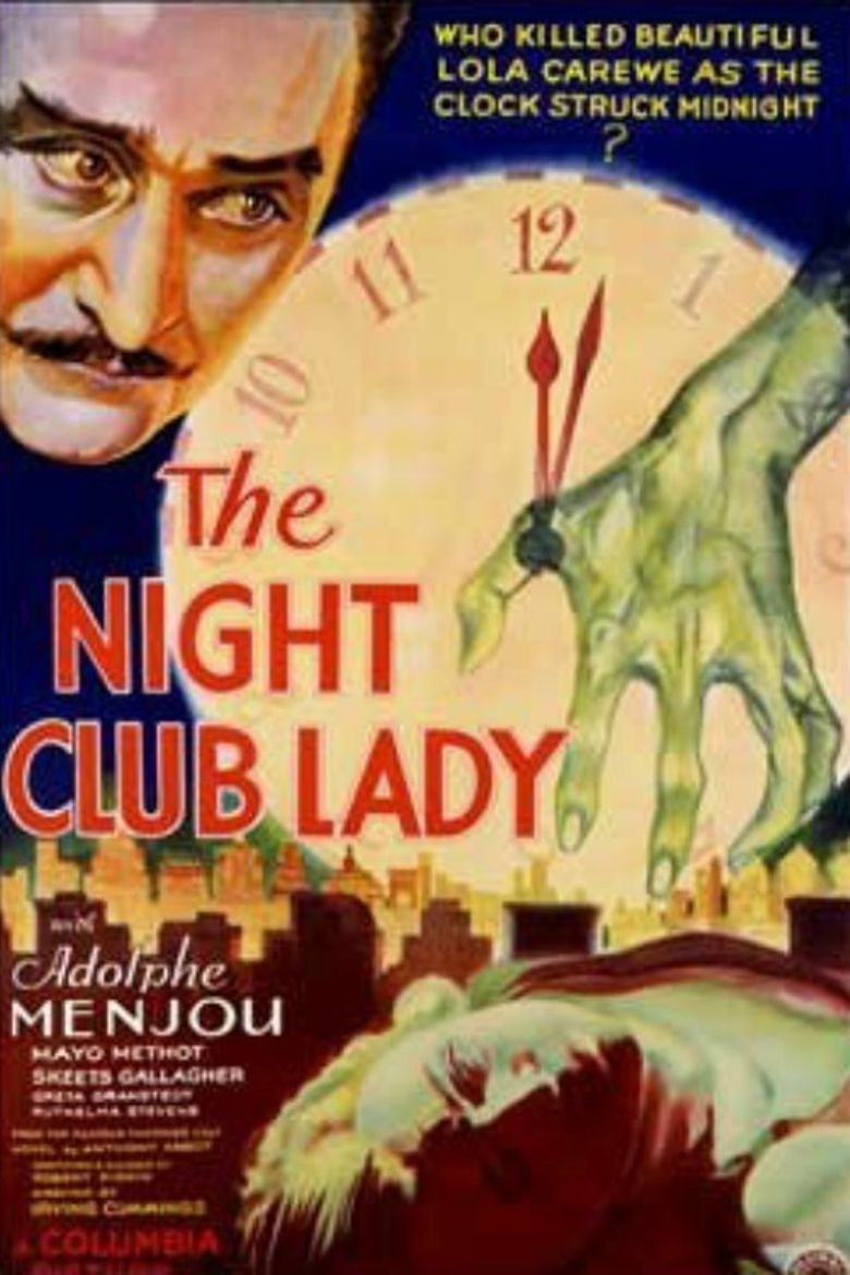 The Night Club Lady Poster