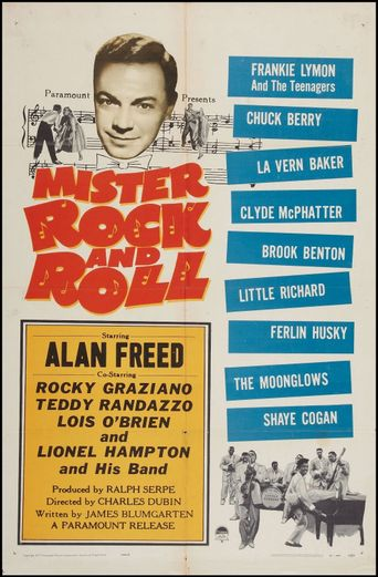 Mister Rock and Roll Poster