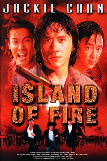 Island of Fire Poster