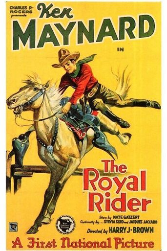 The Royal Rider Poster