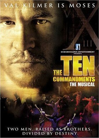 The Ten Commandments: The Musical Poster
