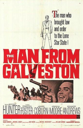 The Man from Galveston Poster