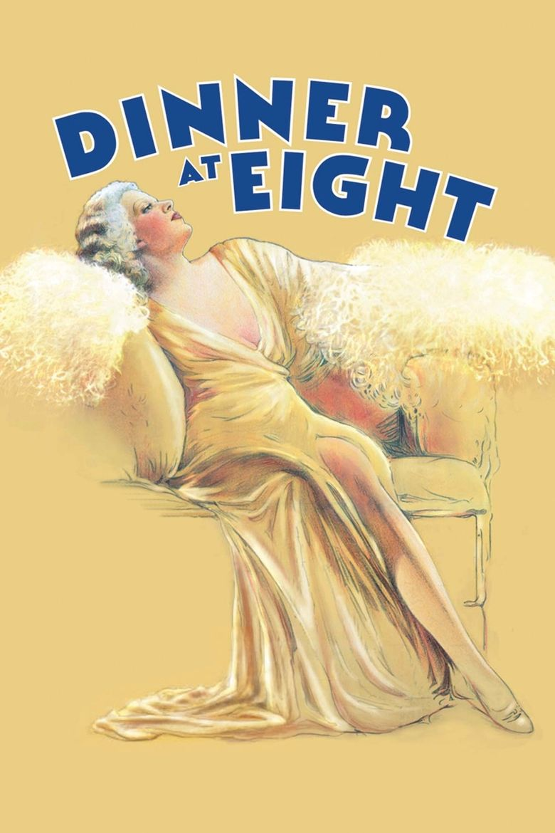 Dinner at Eight Poster