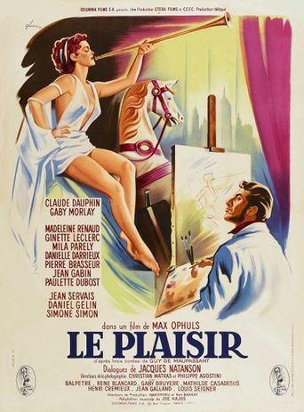 Le Plaisir Poster