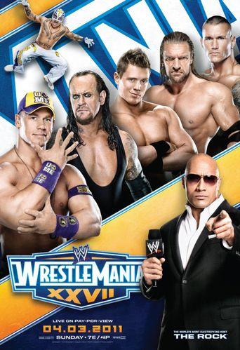 WWE WrestleMania XXVII Poster