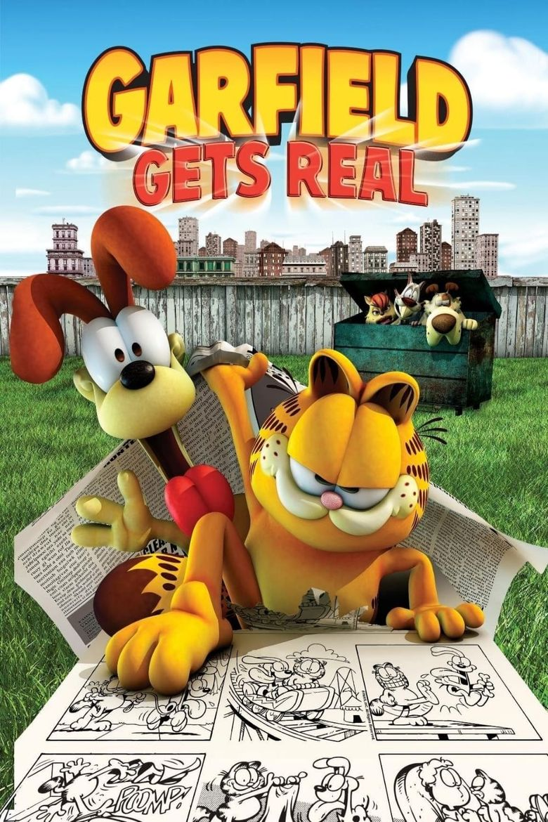 Garfield Gets Real Poster