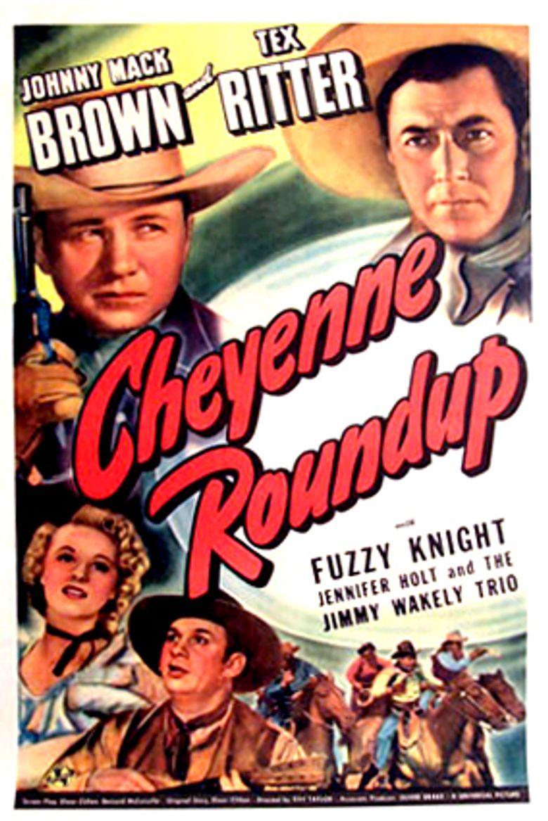 Cheyenne Roundup Poster