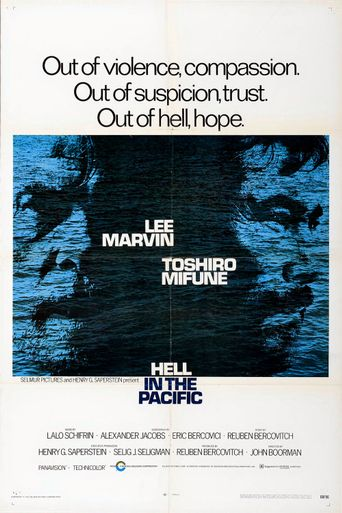Hell in the Pacific Poster